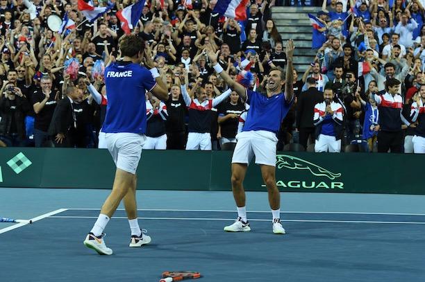 La France se qualifie pour la finale de la Coupe Davis