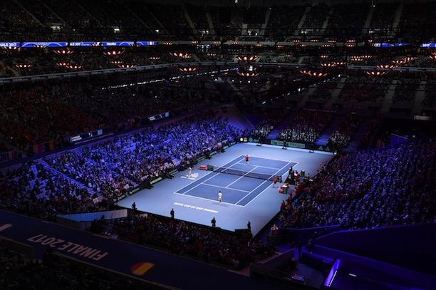 France-Espagne sur le dur — Coupe Davis