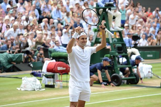 Wimbledon: Roger Federer décroche un 8e titre record