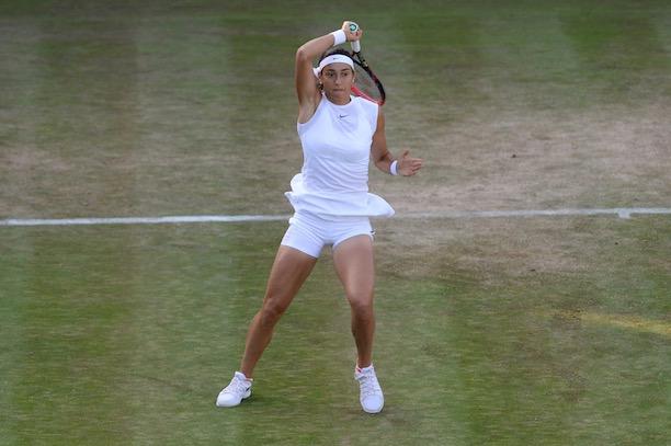 Garcia s'arrête en huitièmes, Williams poursuit sa route — Wimbledon