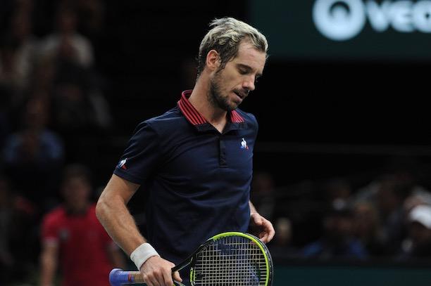 Richard Gasquet forfait pour la finale — Coupe Davis