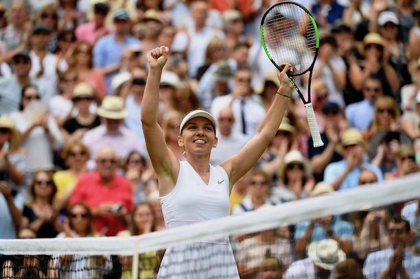 Halep a donné une leçon de tennis à Serena Williams — Finale
