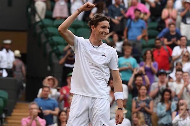 Paire file en 8e — Wimbledon