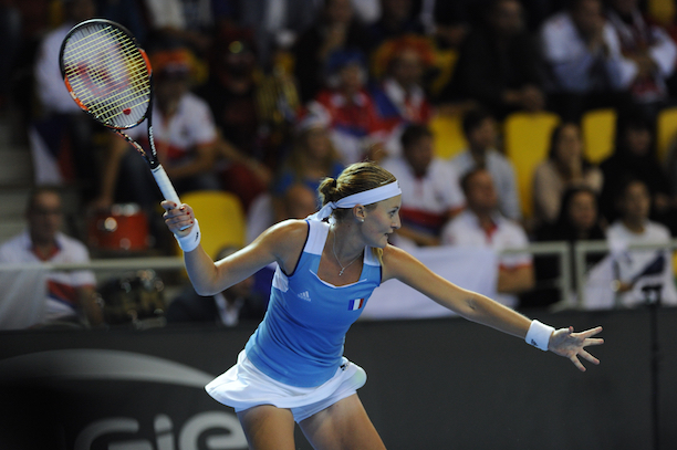 mladenovic stoppe avec goven wta we love tennis. Black Bedroom Furniture Sets. Home Design Ideas