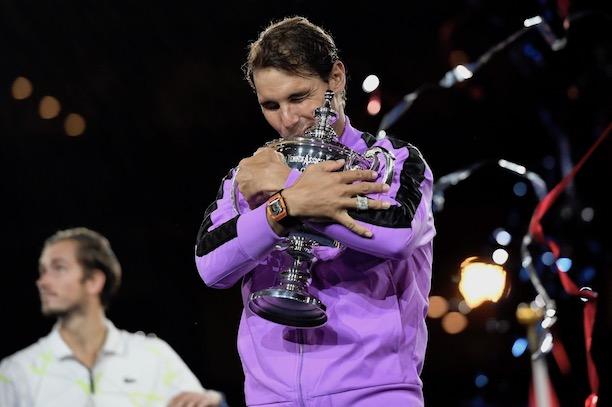 Rafael Nadal remporte un 19e tournoi majeur — US Open