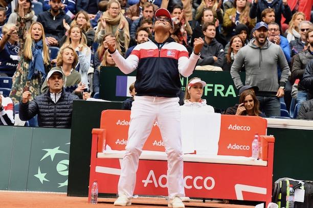 Coupe Davis : la Belgique en finale !