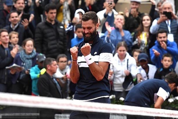 Paire en 8e, une première — Roland-Garros