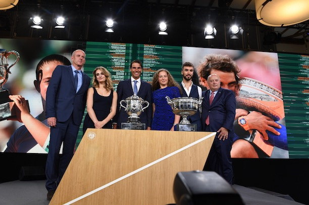 L'ogre Nadal et les revenantes — Roland-Garros