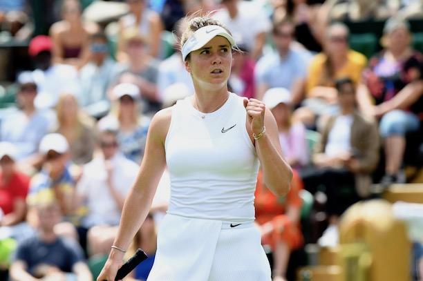 Serena Williams et Simona Halep dans le dernier carré — Wimbledon