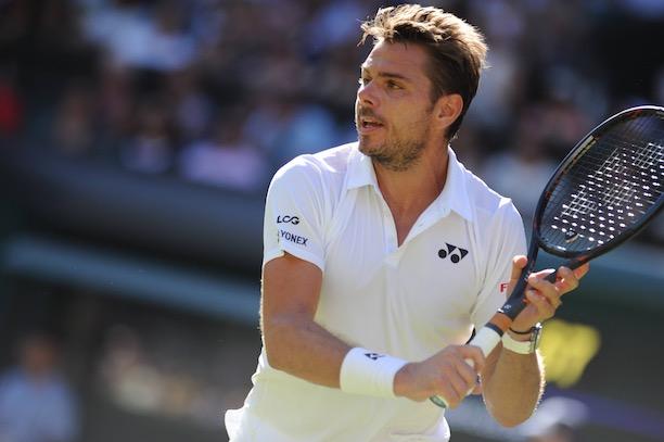 Wimbledon: Stan Wawrinka s'arrête au deuxième tour
