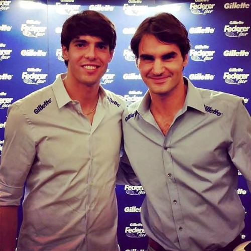 ¿Cuanto mide Kaká? - Altura - Real height  Federer%20kaka