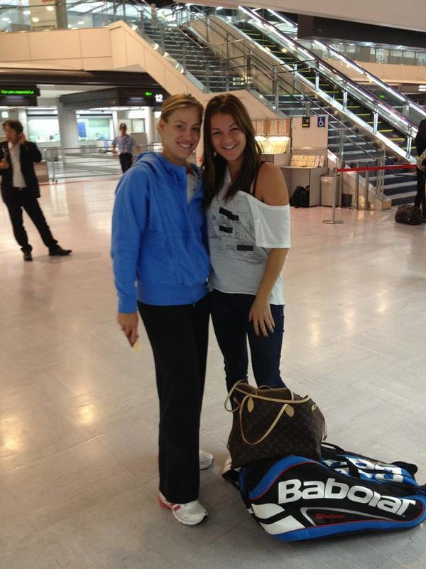 Kerber et radwanska sont dans un avion insolites we love tennis - Nuit insolite dans un avion ...