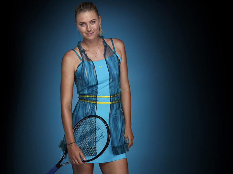 nouvelle collection pour l 39 oa maria sharapova we love tennis. Black Bedroom Furniture Sets. Home Design Ideas