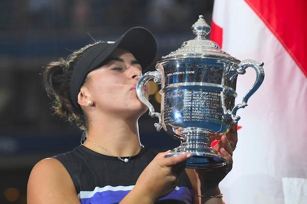 WTA > Andreescu élue athlète canadienne de l'année
