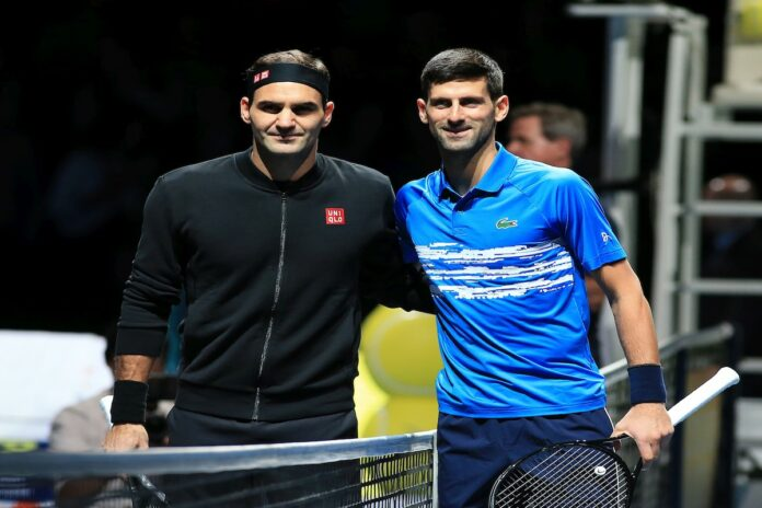 Federer Djokovic Masters Londres 2019