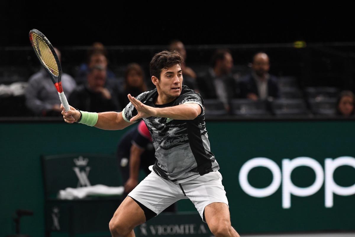 Wimbledon Garin C Est La Premiere Fois Que Je Joue Un Big 3 En Grand Chelem Et Cela Me Remplit De Joie We Love Tennis