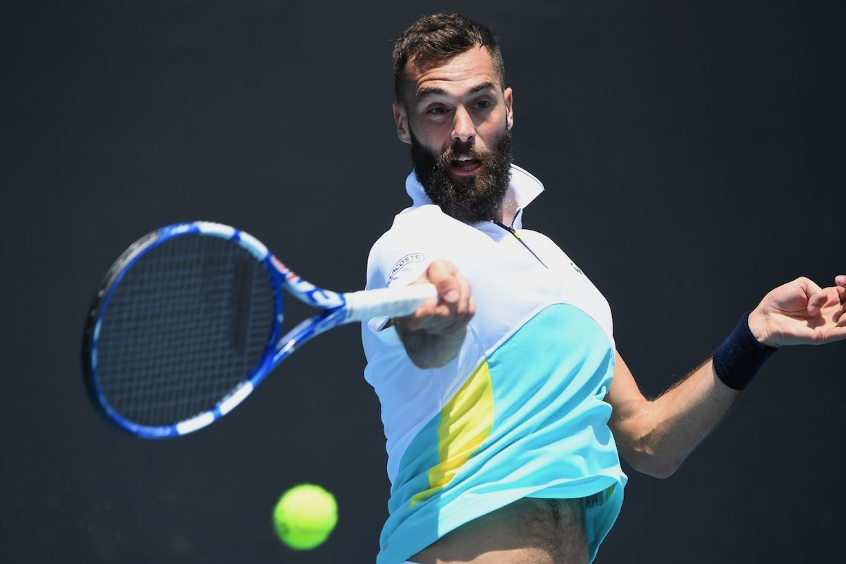 Benoît Paire passe le premier tour dans la douleur — Open d'Australie