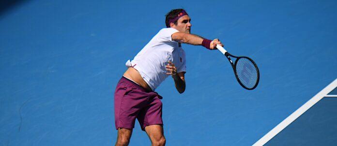ATP DUBAI 2021 Federer-Serve-696x302