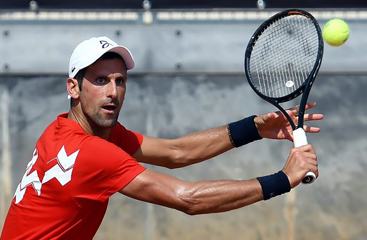 Rome: Djokovic s'en sort contre Krajinovic