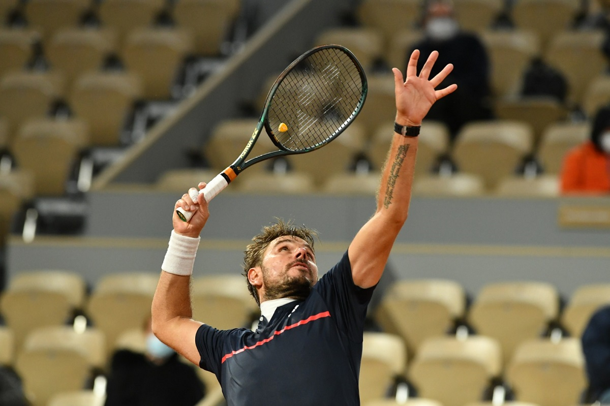 Stan Wawrinka poursuit son chemin à Paris — Roland-Garros