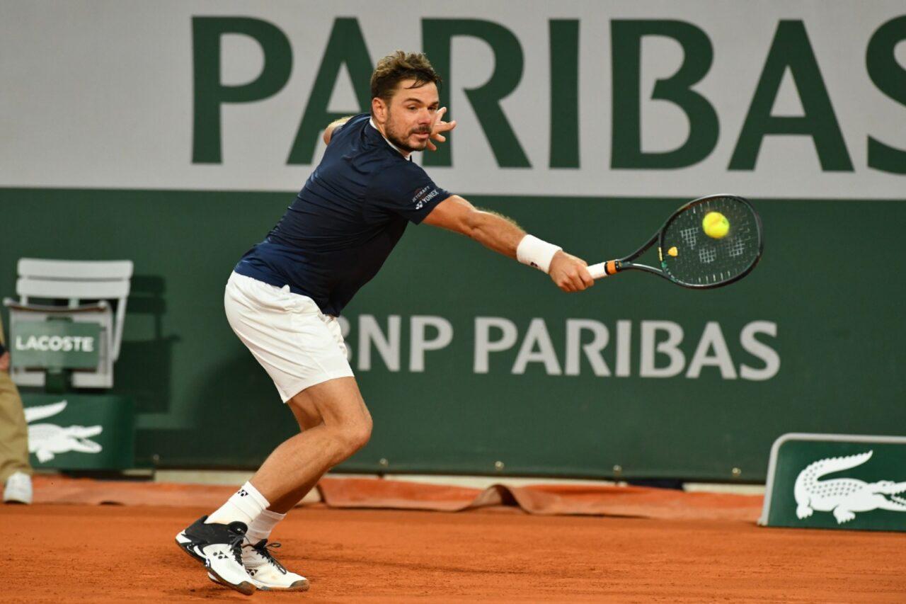 Stan Wawrinka poursuit son chemin à Paris — Roland-Garros