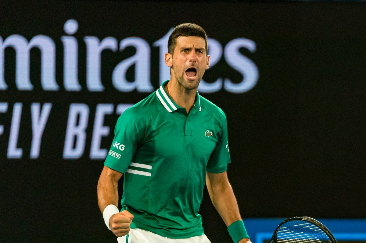 Djokovic : « Pour moi, le <b>tennis</b> est un champ de bataille, non seulement à l&#39;extérieur mais aussi à l ...